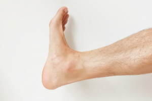 foot pain ankle rolls