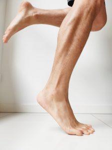 foot pain strengthening calf muscles single leg
